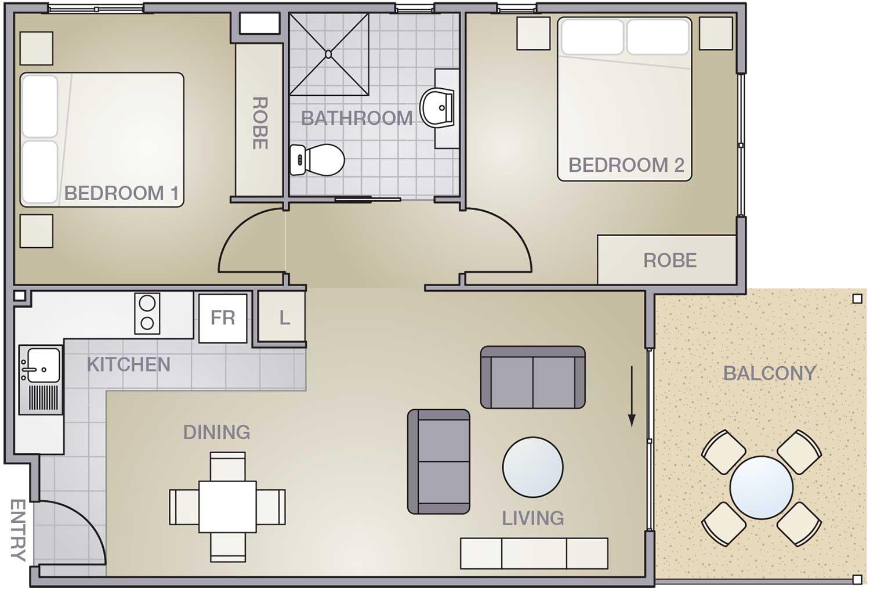 Highview-2Bedroom-D